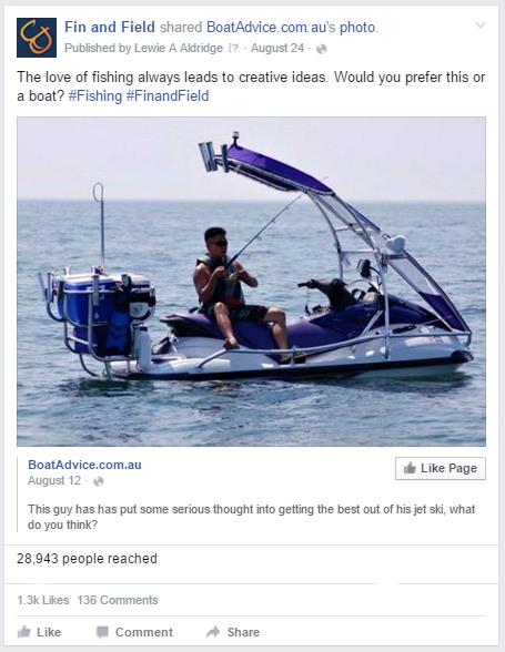 FB - jetski post