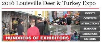 Louisville Deer & Turkey Event Banner