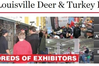 Louisville Deer & Turkey Event Banner