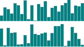 Generic bar chart graphic.