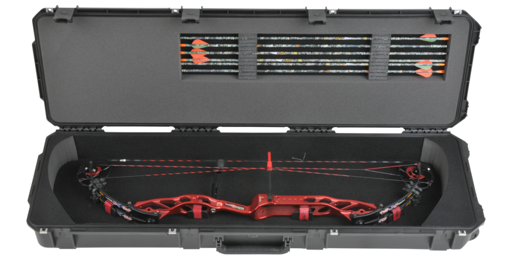 Bow and arrow travel case airline approved
