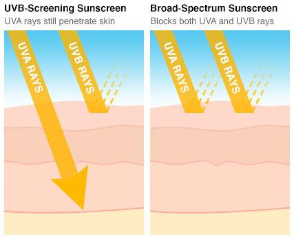 UVA vs UVB Rays
