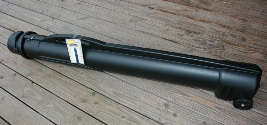 Plano 6508 Fishing Rod Tube designed for airline travel TSA