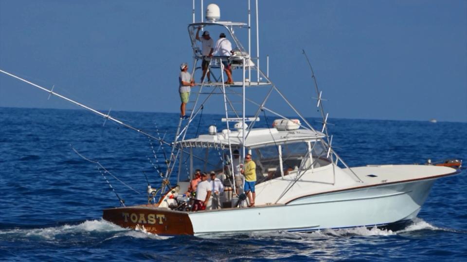 marlin fishing boat wi