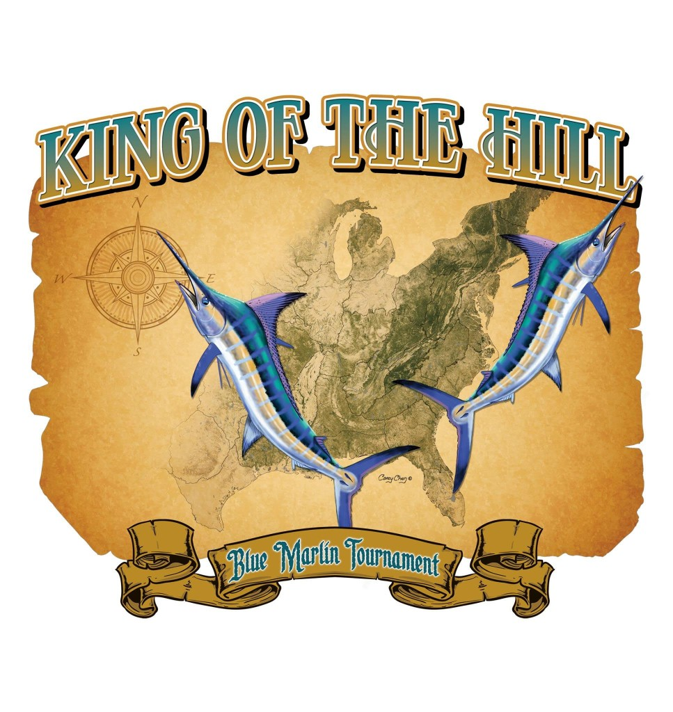 king of the hill marlin tournament logo
