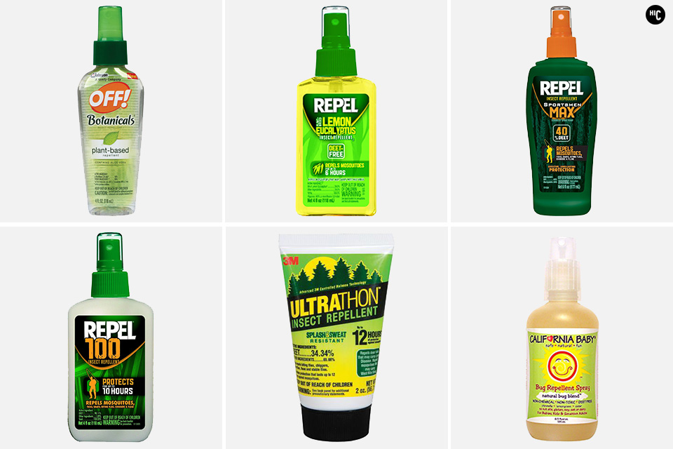 Best-Bug-Spray-Repellent examples that can be carried on during airline travel