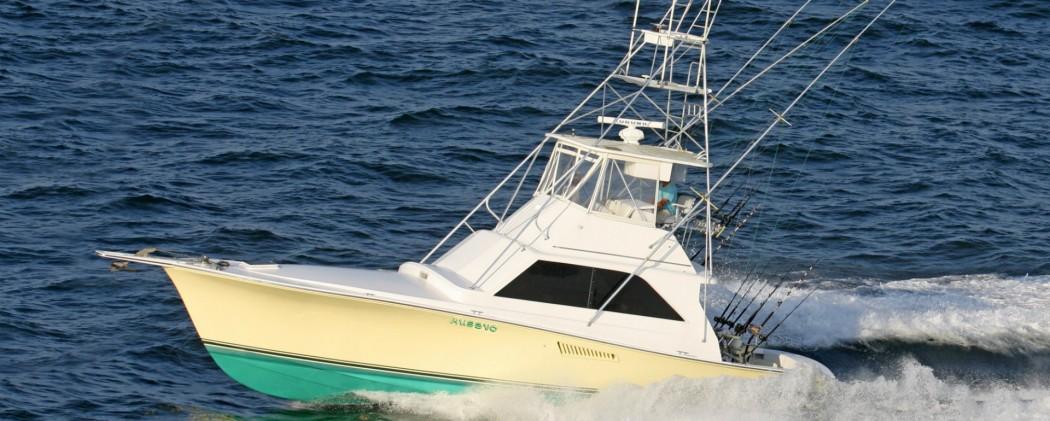 Captain Mark Robbins boat the Husevo