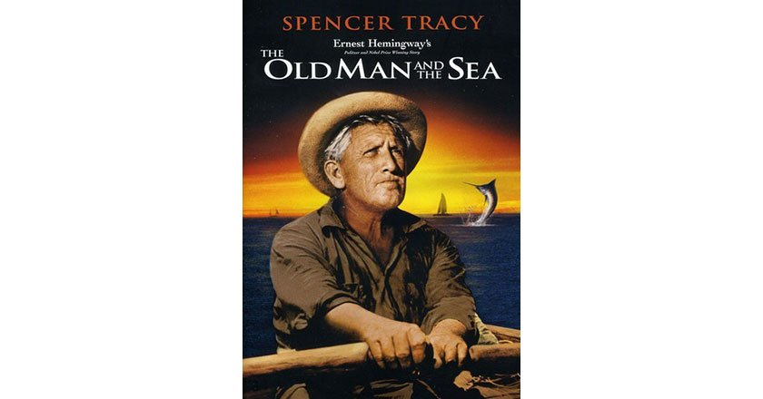 Old man and the sea film cover
