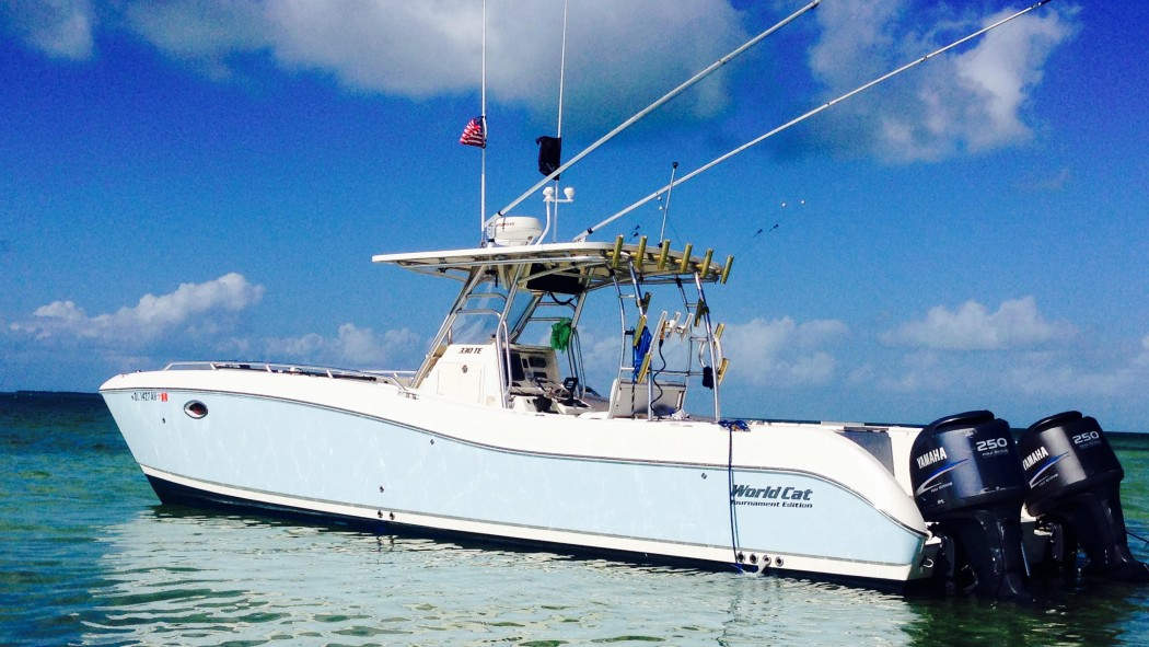 5 Star Sportfishing Charters 33' world cat