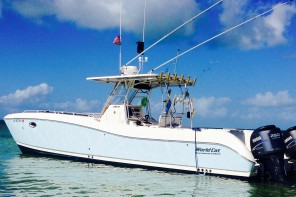 5 Star Sportfishing Charters 33' world cat