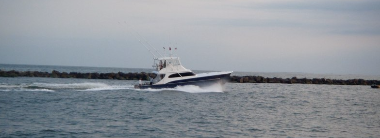 the 54' no quarter captained by kyle peet out of ocean city maryland