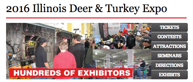 deer & Turkey expo bloomington, IL field & Stream Outdoor Life Bonnier