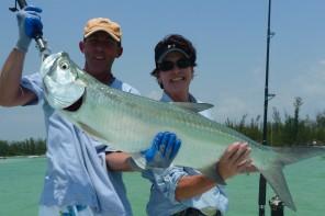 couples fishing getaway