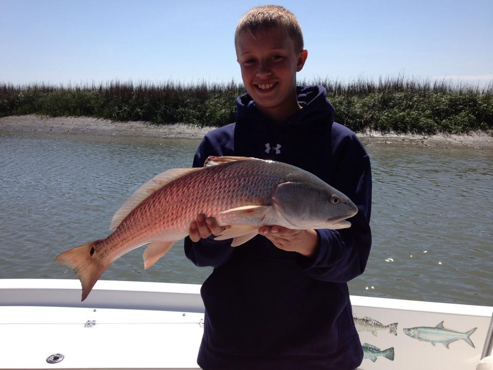 drum runner charters out of charleston, SC is family friendly and an excellent value