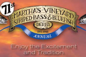 71st annual Martha's Vineyard Fishing Derby logo