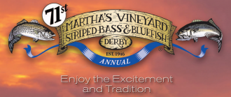 71st annual Martha's Vineyard Fishing Derby logo