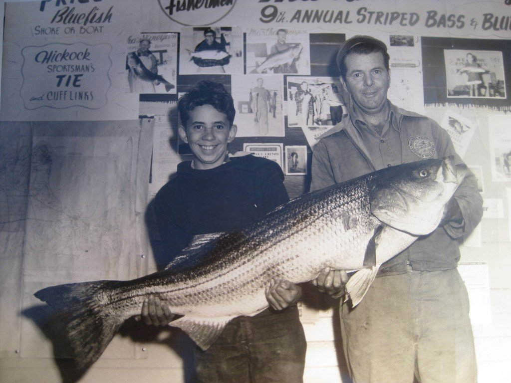 1954 Martha's vineyard Derby winning bass