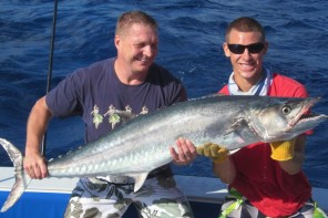 south florida charters from Sailfish Marina, Captain Rich Adler Tuna Wahoo