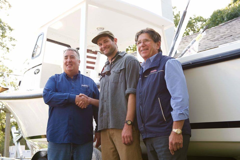 Martha's Vineyard fishing derby boat winner
