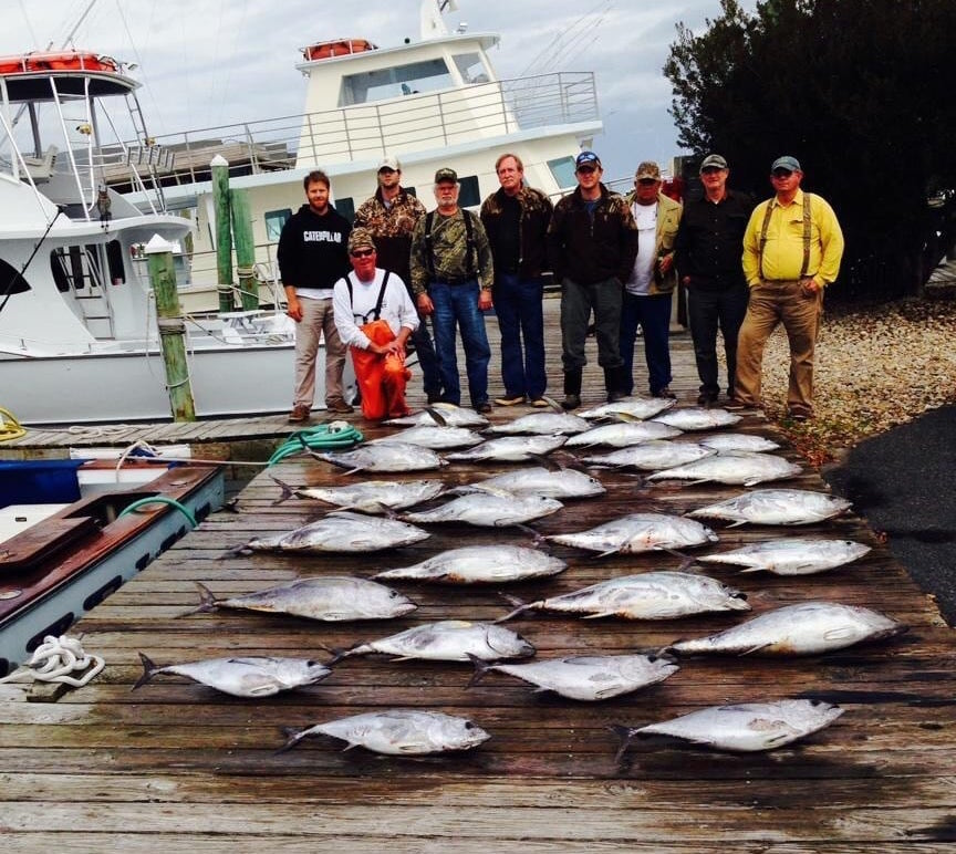 outer banks fishing for tuna is red hot