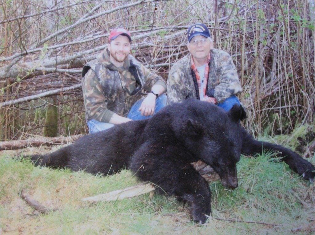 Big Game Hunting Adventures black bear hunt