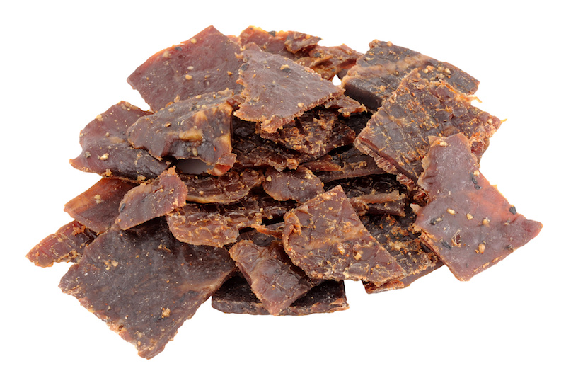 Pack snacks like Beef Jerky for your outdoor adventures