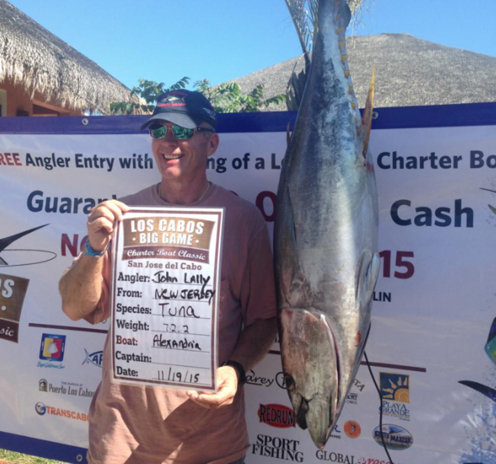 Los Cabos Charter Boat Classic Tuna