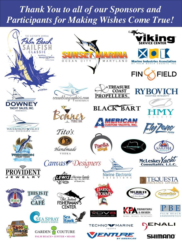 Palm beach sailfish classic 2016 sponsors