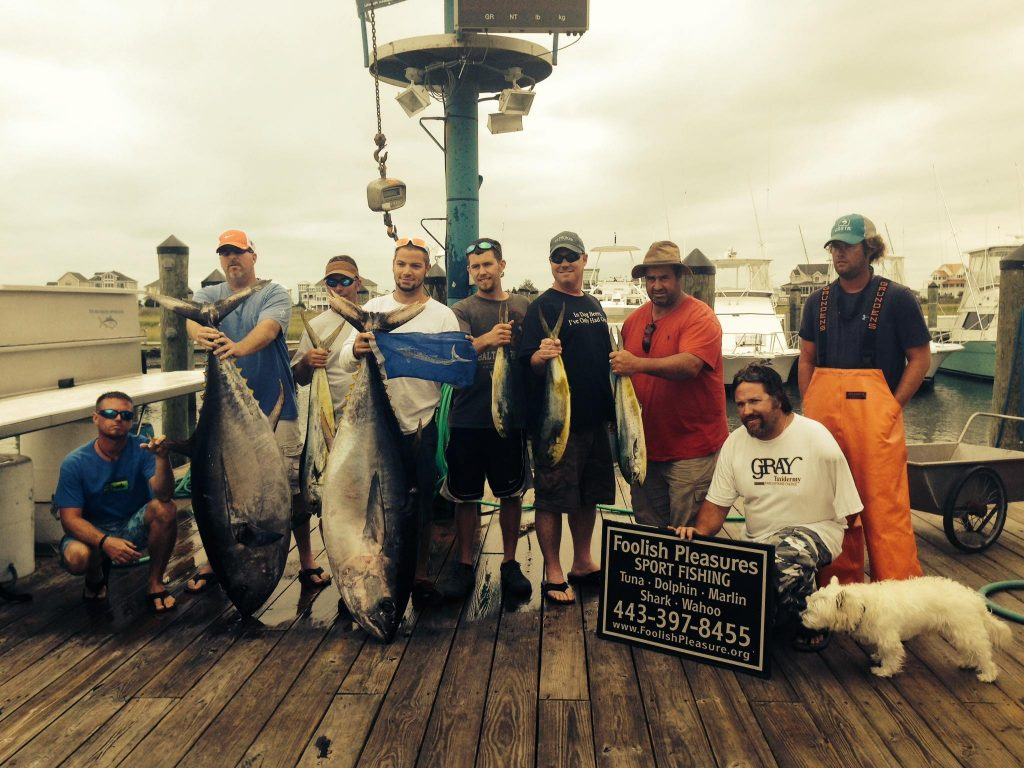 Ocean City fishing vacation destination