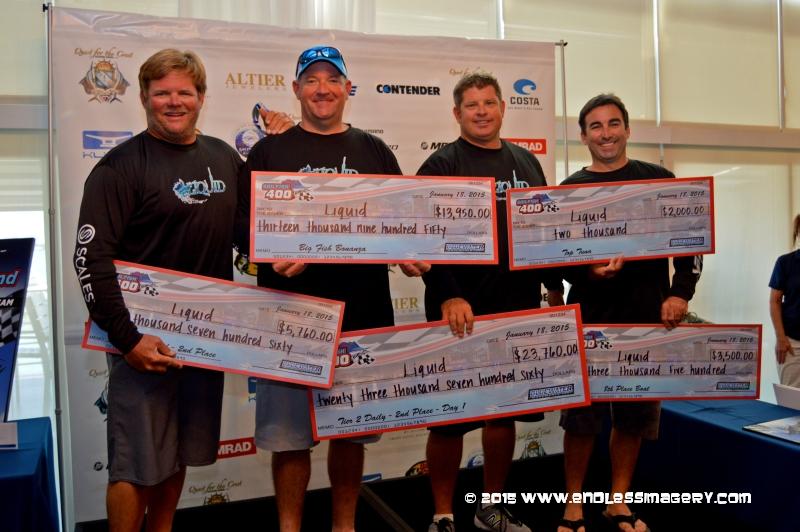 Sailfish 400 past winners