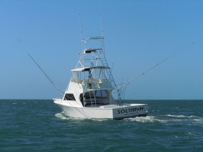 SOUTHPAW fishing charter boat