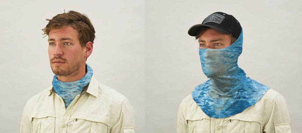 Buff's new mask has laser cut breathing holes and more sun protection coverage than ever
