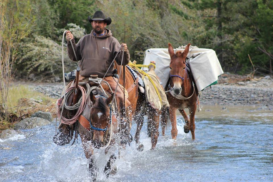 Wood River Ranch Pack Mule Trips