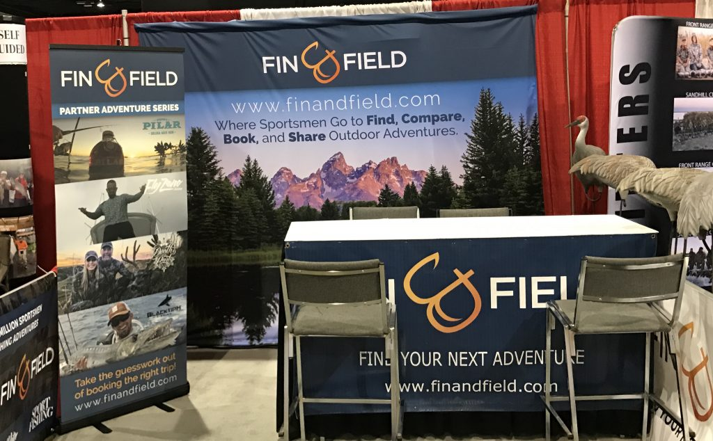 Fin & Field Booth