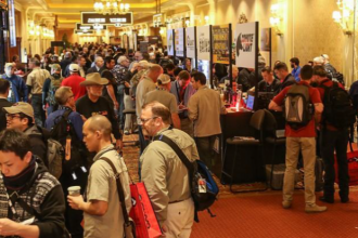 crowds at shot show