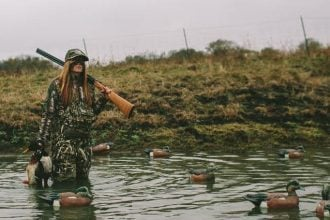 Breelan Angel Duck Hunting