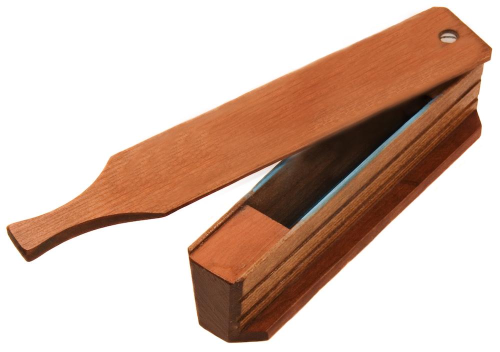 wooden box turkey call