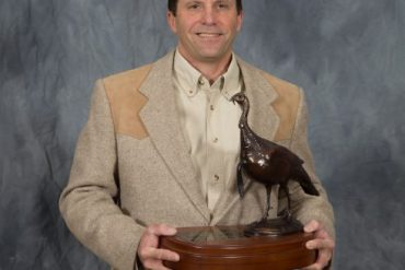 Sandrini Receives NWTF National Conservation Award