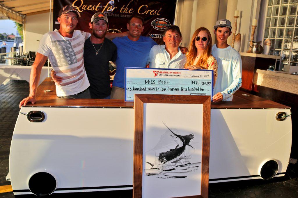 Sailfish Challenge Winners