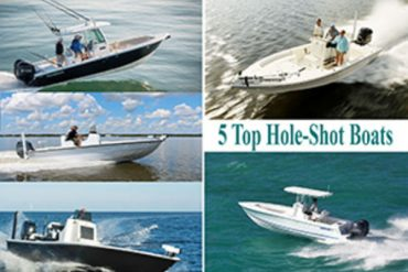 Five Top Hole-Shot Boats