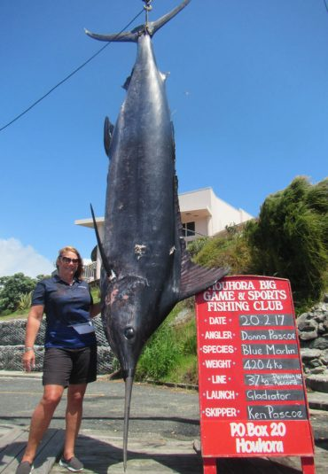 New Zealand Record Blue Marlin Landed