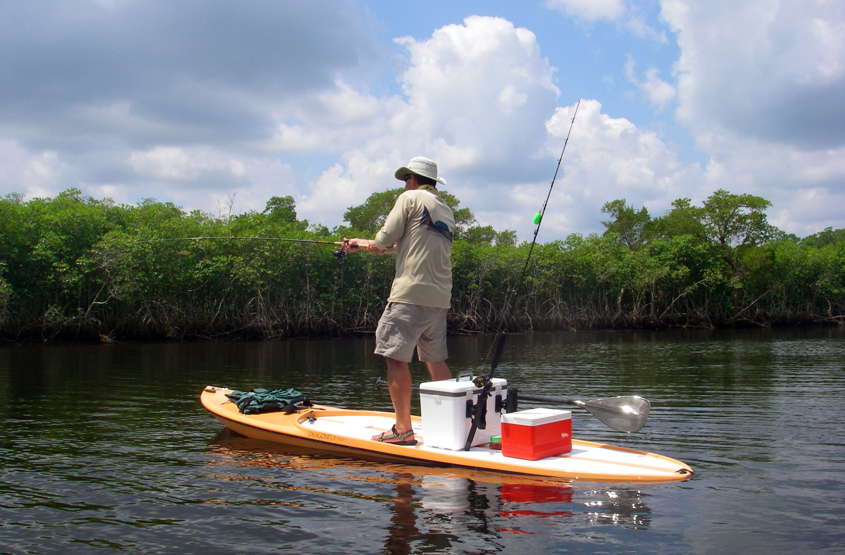 Tips For Taking Up Paddleboard Fishing Fin And Field Blog