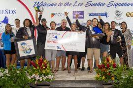 Sea Angel Wins Leg Three in Los Sueños