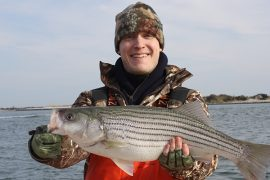The First Striper of The Season