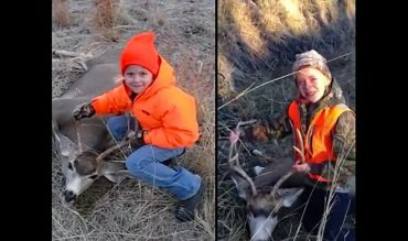 Watch: Hunting Sisters Recovering Their First Bucks