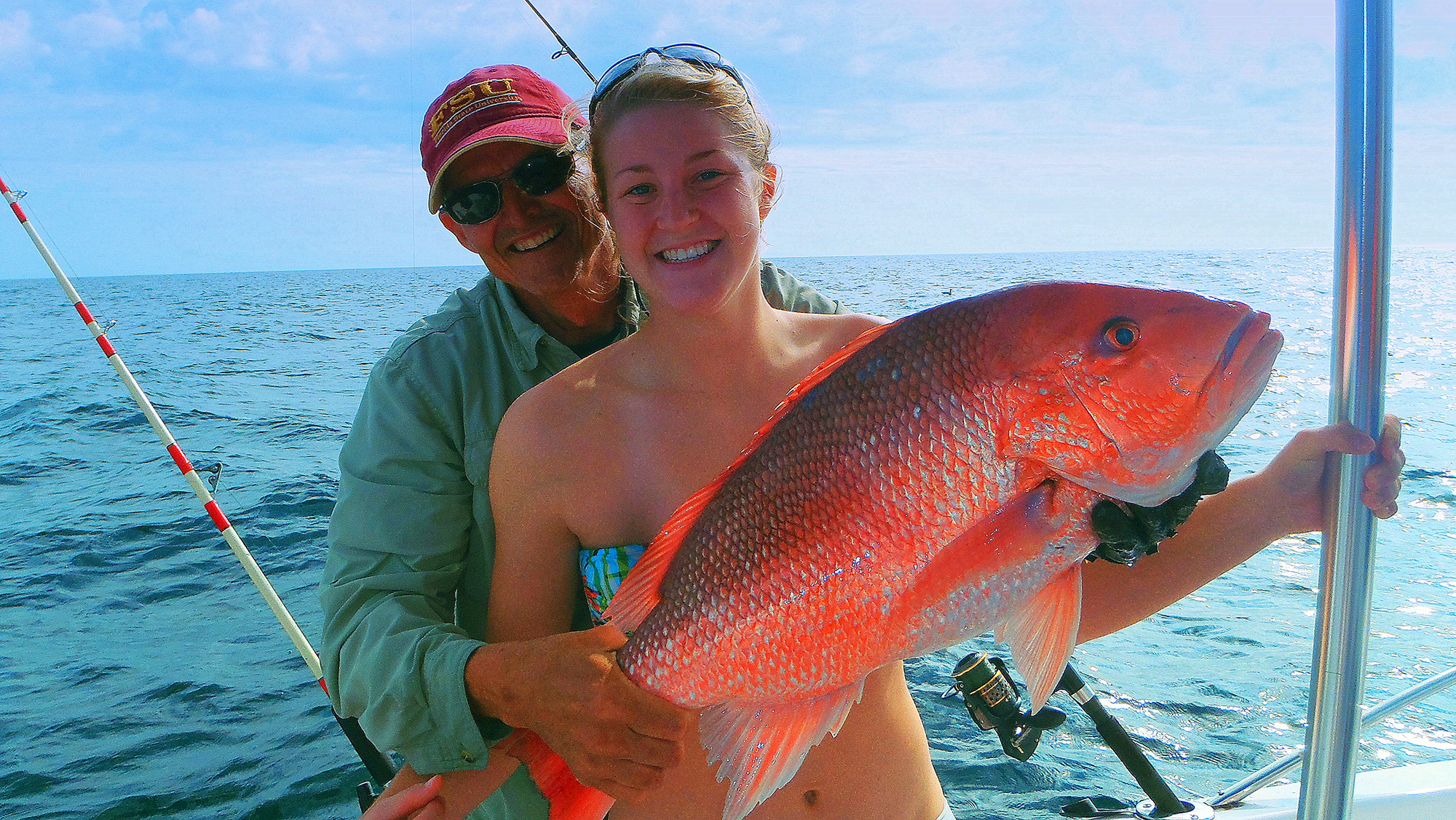 Gulf reef fish survey and seasons fin and field blog for Red snapper fishing