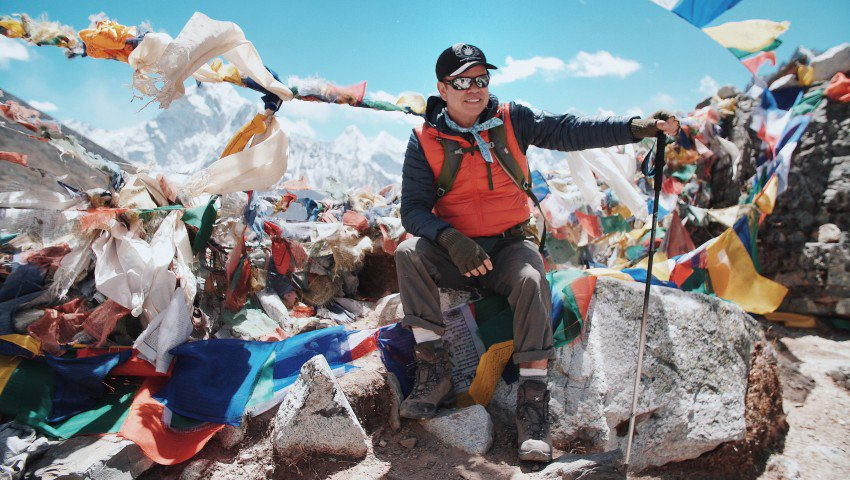 Paul Oakenfold Just Played a Gig on Everest