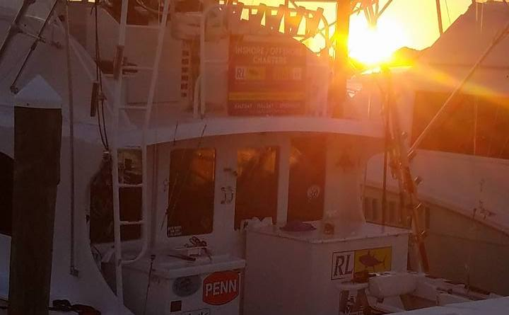 Sunset on the Restless Lady