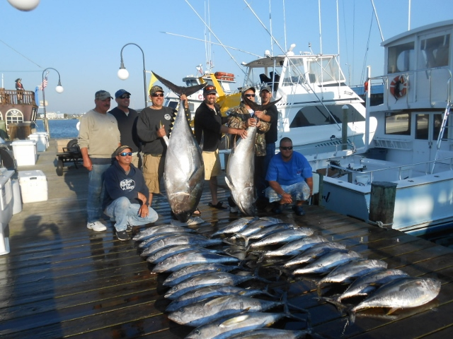 Restless Lady Charters puts their clients on TUNA