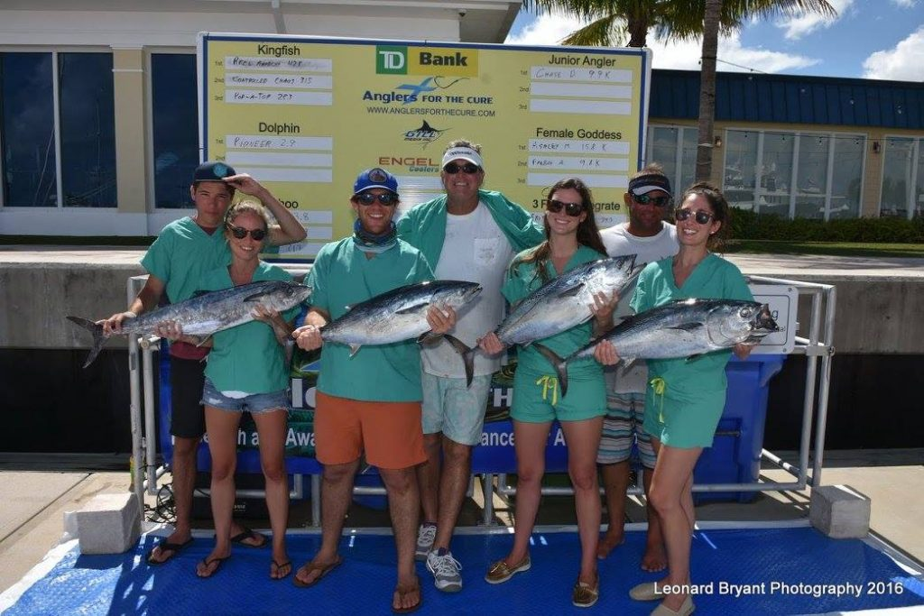 Anglers for the Cure Tuna Weigh In 2016